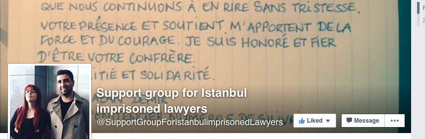 support group for istanbul lawyers